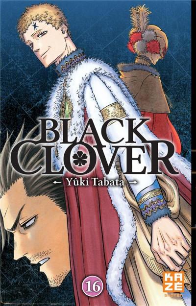 Couverture Black clover tome 16