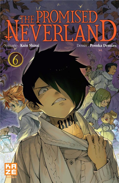 Couverture The promised neverland tome 6