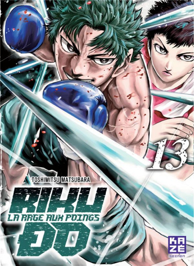 Couverture Rikudo - La rage aux poings tome 13