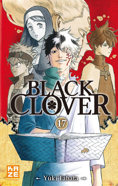Couverture Black clover tome 17