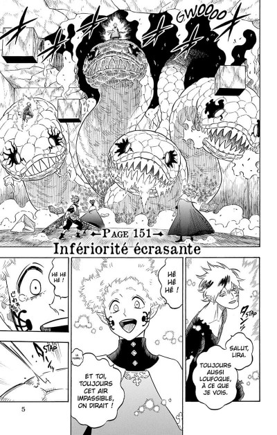 Page 6 Black clover tome 17