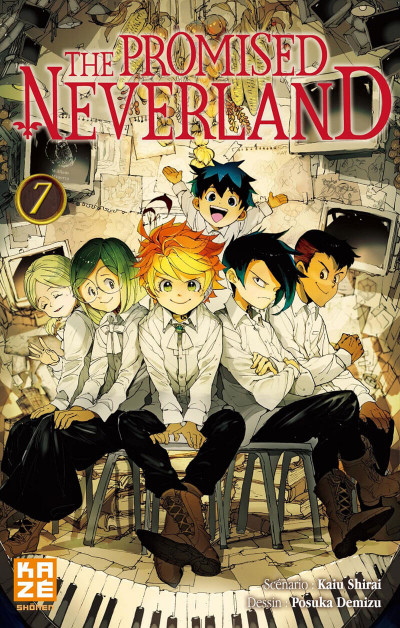 Couverture The promised neverland tome 7