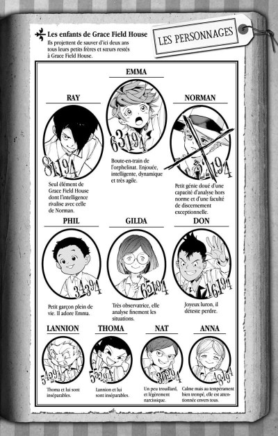 Page 3 The promised neverland tome 7