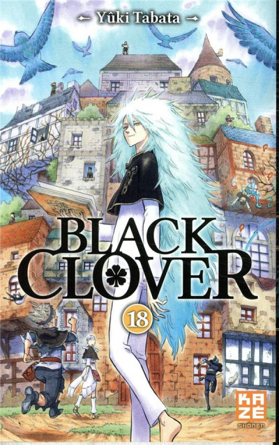 Couverture Black clover tome 18
