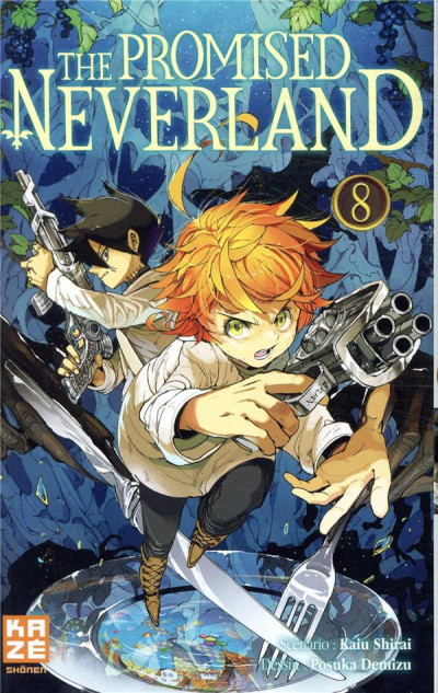 Couverture The promised neverland tome 8