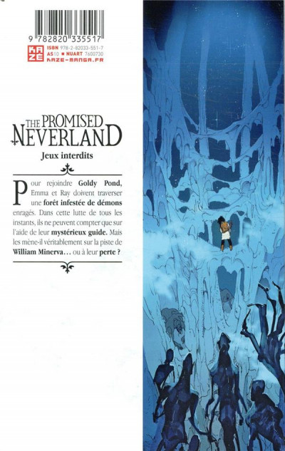 Dos The promised neverland tome 8