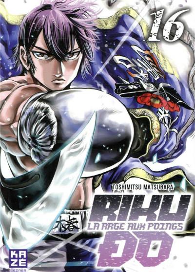 Couverture Rikudo - La rage aux poings tome 16
