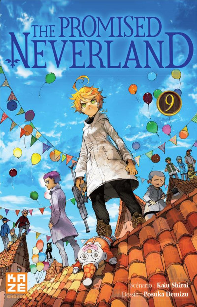 Couverture The promised neverland tome 9