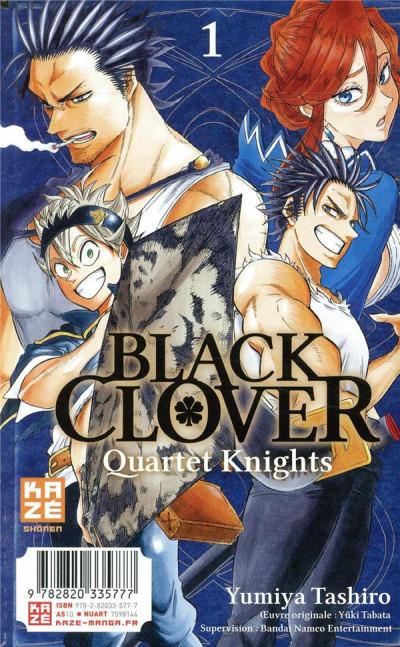 Dos Black clover tome 20