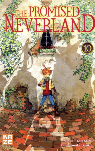 Couverture The promised neverland tome 10