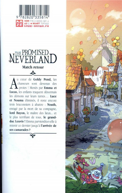 Dos The promised neverland tome 10
