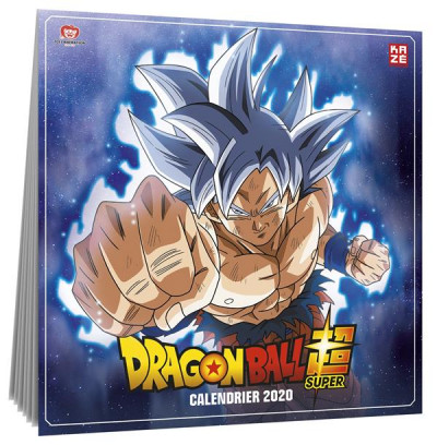 Couverture Dragon ball super - calendrier 2020