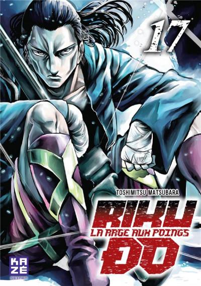 Couverture Rikudo - La rage aux poings tome 17