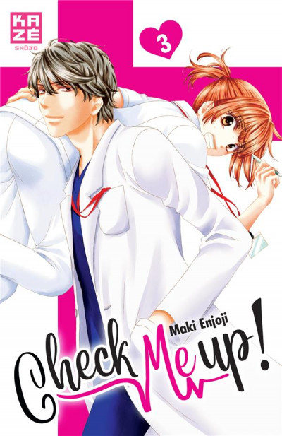 Couverture Check me up ! tome 3