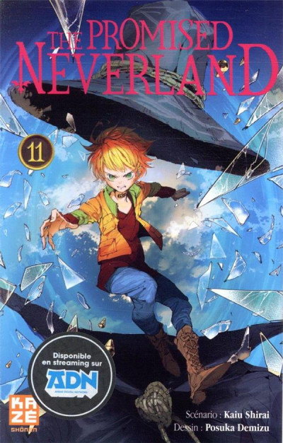 Couverture The promised neverland tome 11