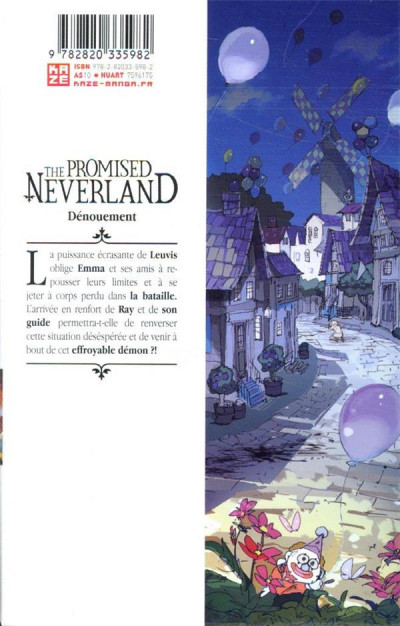 Dos The promised neverland tome 11