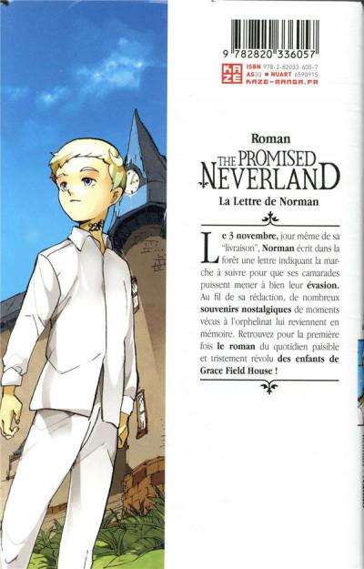 Dos La Lettre de Norman - roman