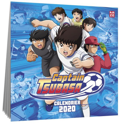 Couverture Captain Tsubasa - calendrier 2020