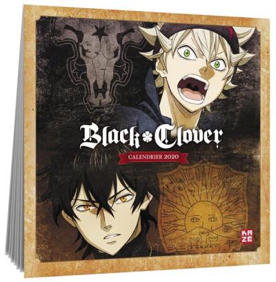 Couverture Black clover - calendrier 2020