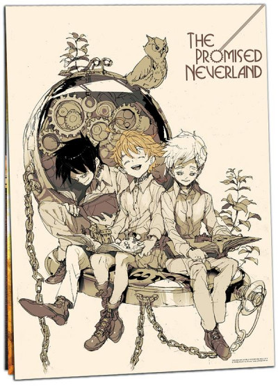 Couverture The promised neverland - calendrier 2020