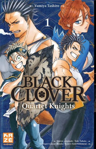 Couverture Black clover - quartet knights tome 1