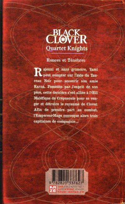 Dos Black clover - quartet knights tome 2