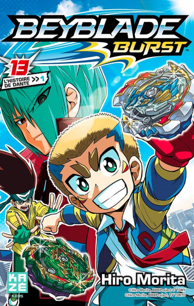 Couverture Beyblade burst tome 13