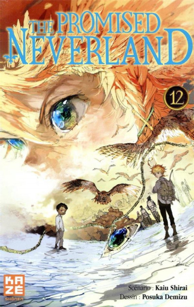 Couverture The promised neverland tome 12