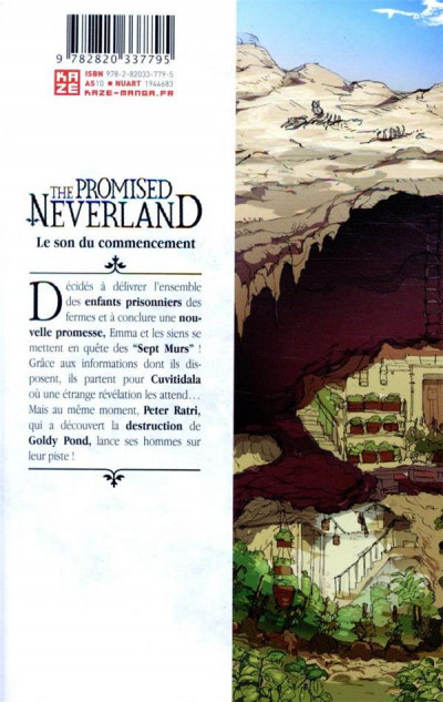 Dos The promised neverland tome 12