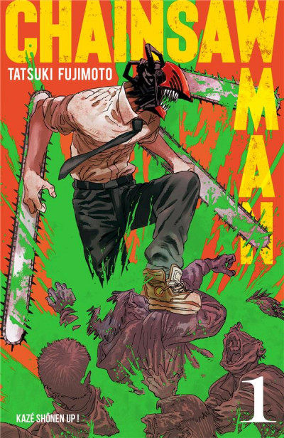 Couverture Chainsaw man tome 1