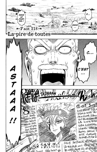 Page 7 Black Clover tome 23