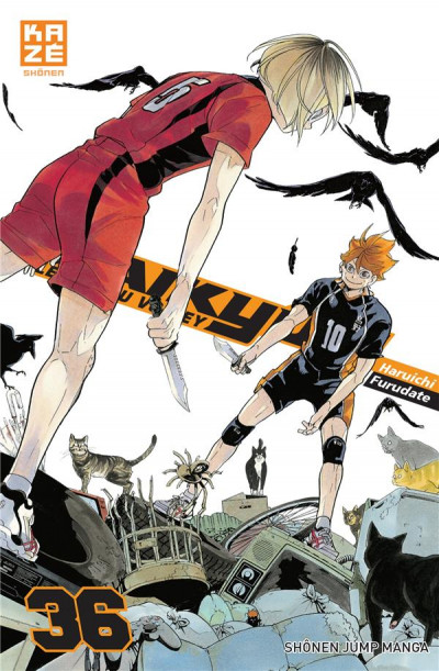 Couverture Haikyu !! - Les as du volley tome 36