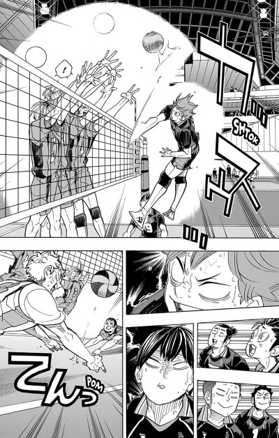 Page 7 Haikyu !! - Les as du volley tome 36