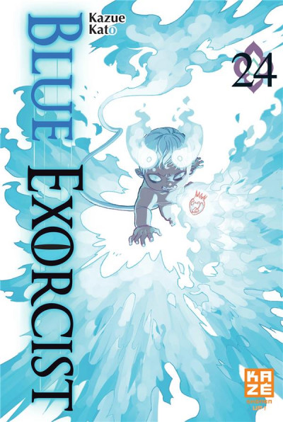 Couverture Blue exorcist tome 24