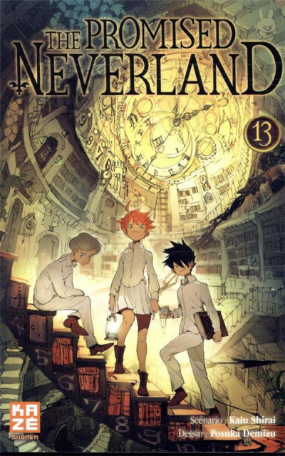 Couverture The promised neverland tome 13