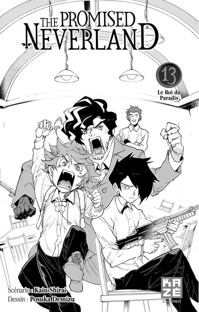 Page 2 The promised neverland tome 13