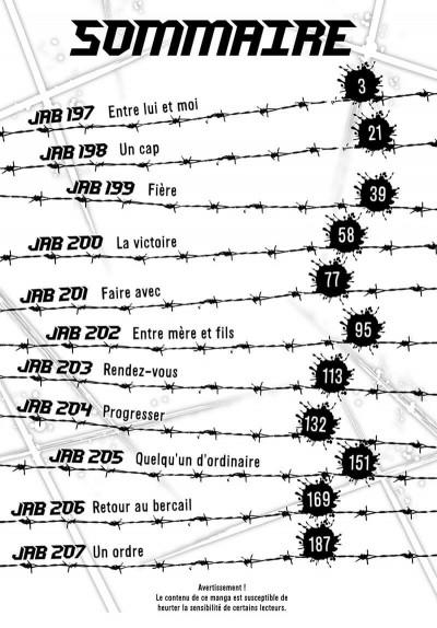 Page 3 Rikudo - La rage aux poings tome 20