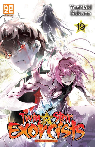 Couverture Twin star exorcists tome 19