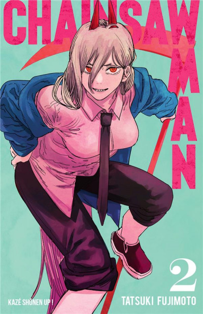Couverture Chainsaw man tome 2