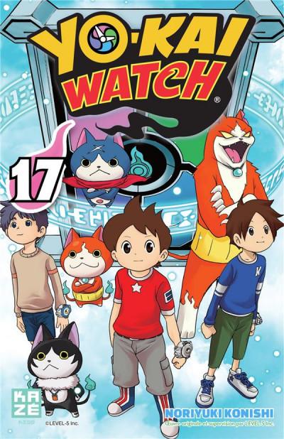 Couverture Yo-kai watch tome 17