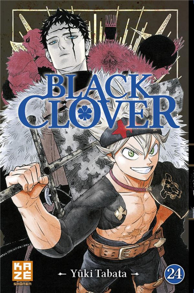 Couverture Black Clover tome 24
