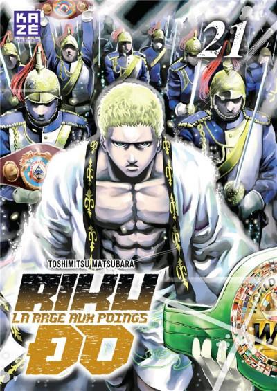 Couverture Rikudo - La rage aux poings tome 21