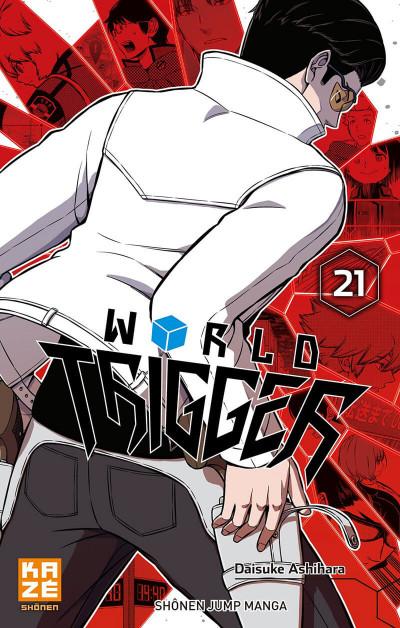 Couverture World trigger tome 21