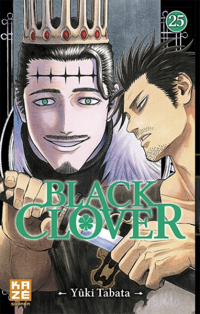 Couverture Black clover tome 25