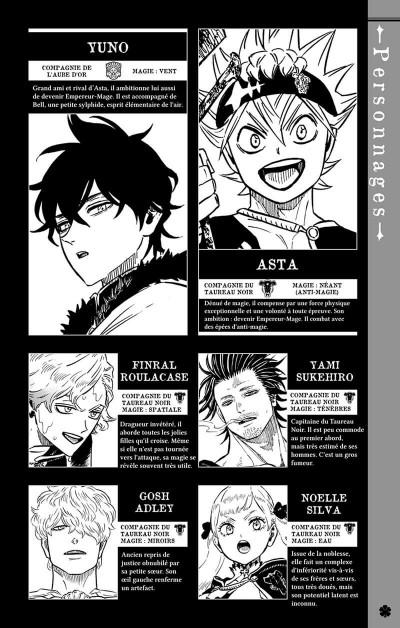 Page 3 Black clover tome 25