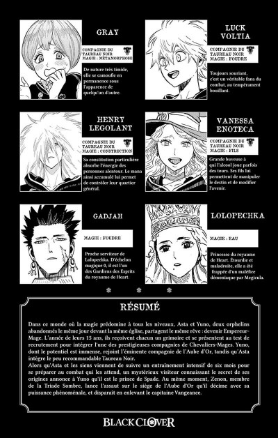 Page 4 Black clover tome 25