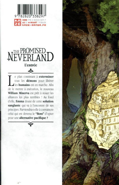 Dos The promised Neverland tome 15