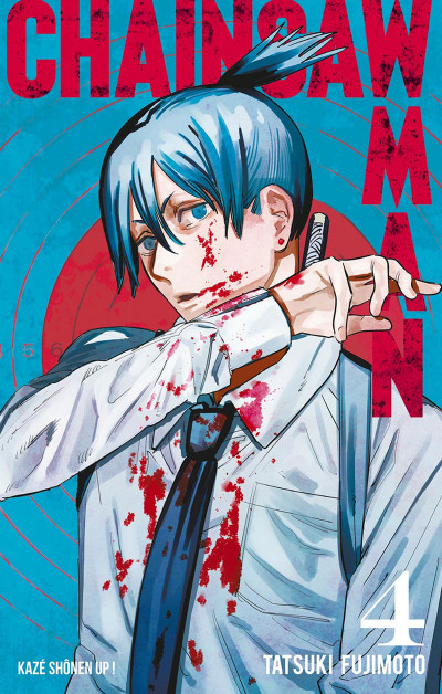 Couverture Chainsaw man tome 4