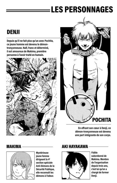 Page 3 Chainsaw man tome 4