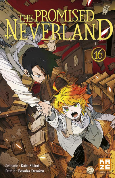 Couverture The promised Neverland tome 16